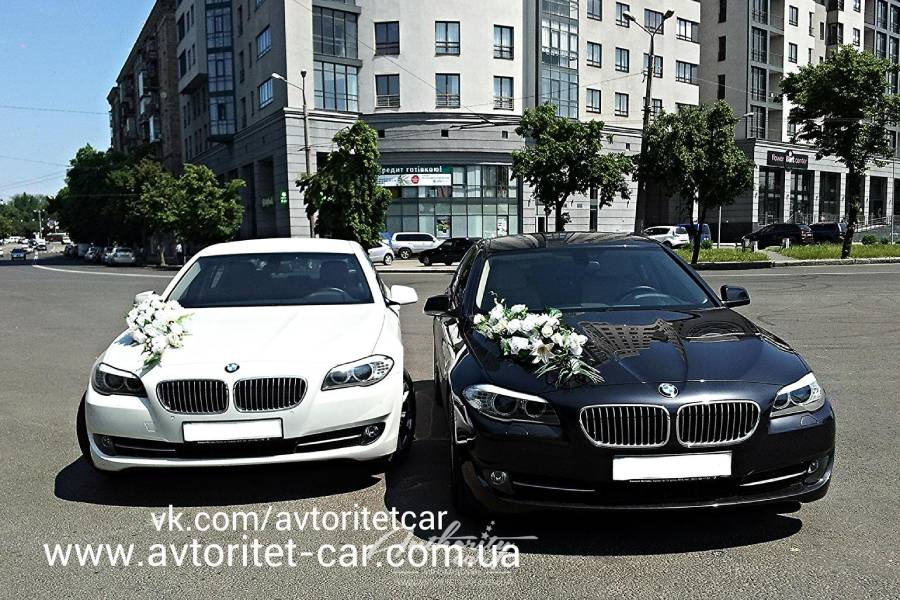 Прокат bmw на свадьбу с водителем