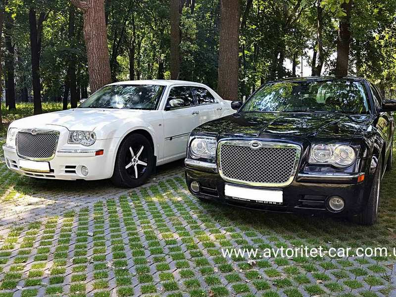 Прокат авто аренда Chrysler на свадьбу в Харькове