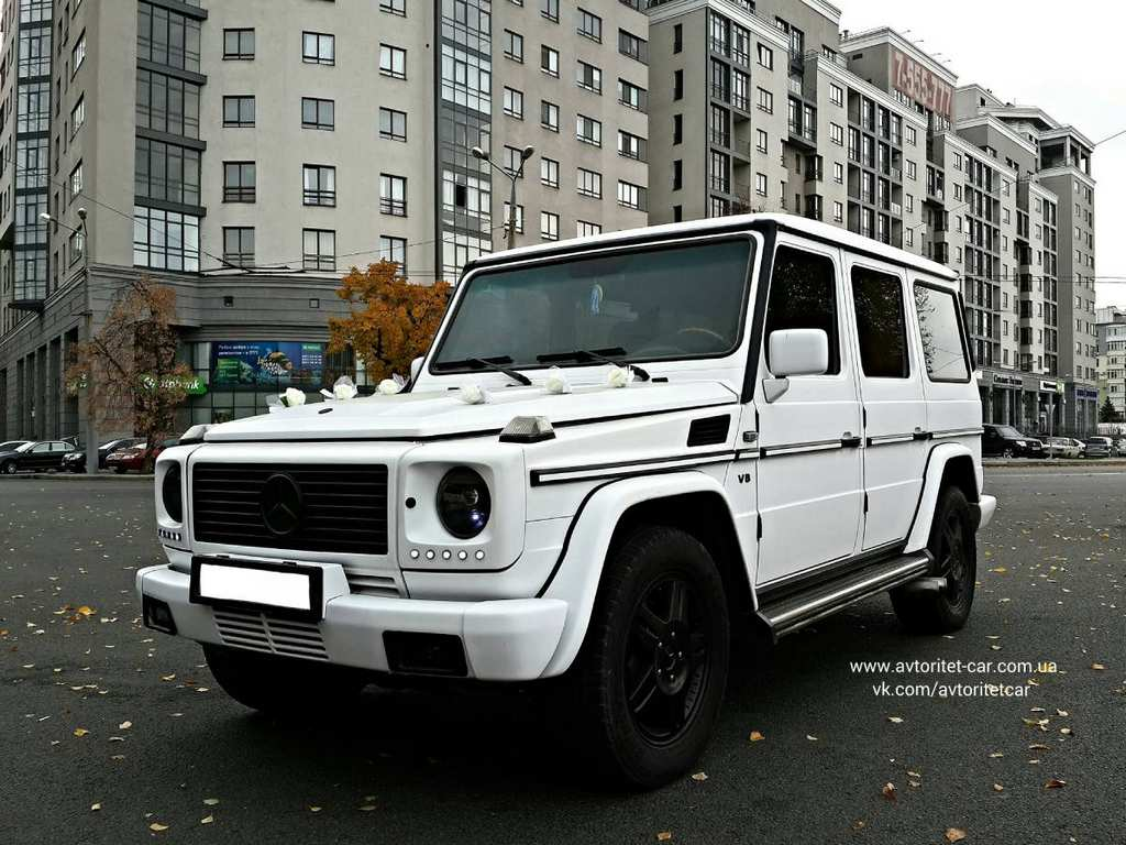 Аренда Mercedes-Benz G-Класс в Харькове