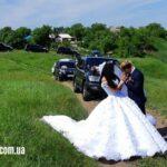 Прокат авто с водителем на свадьбу в Харькове